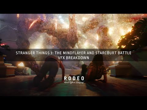 Stranger Things 3 : The Mind Flayer & Starcourt Battle   VFX Breakdown by Rodeo FX