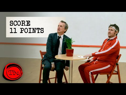 Score 11 Points in This Squash Court | Full Task | Taskmaster