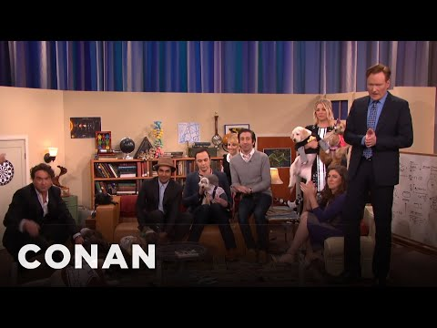 """The Cast Of """"The Big Bang Theory"""" Meets Their Puppy Doppelgängers 