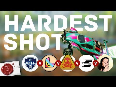 Challenge: Who has the hardest shot? | Rocket League Taskmaster (3/5)