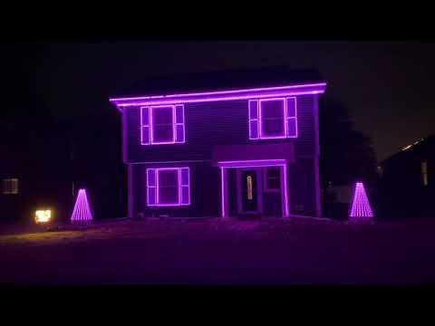 The Mandalorian Light Show