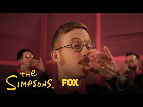 """Okilly Dokilly Performs """"White Wine Spritzer""""   THE SIMPSONS"""