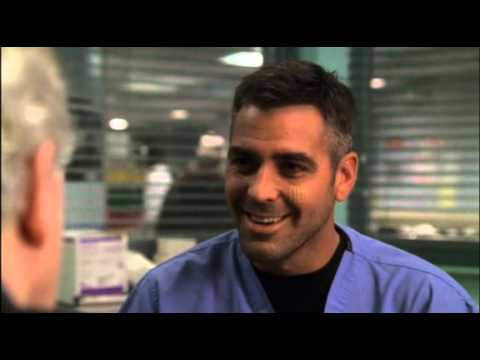 george clooneys best scene from ER