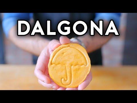 Binging with Babish: Dalgona from Squid Game