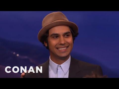 "The Cast Of ""The Big Bang Theory"" Loves To Rag On Kunal Nayyar | CONAN on TBS"