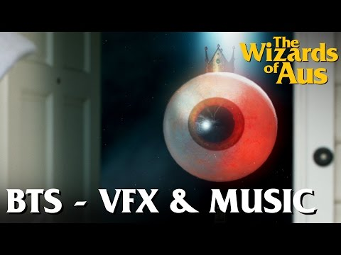 The Wizards of Aus    Behind the Scenes: Post Production - VFX & Sound
