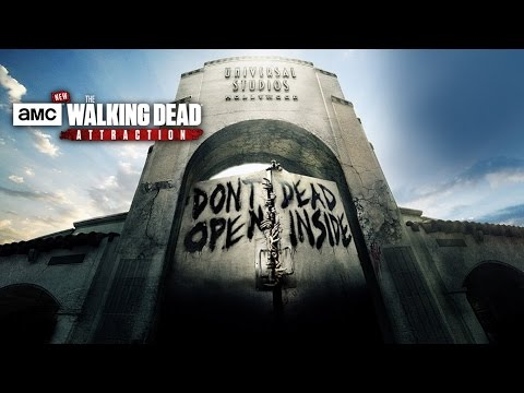Making The Walking Dead Attraction - KNB EFX