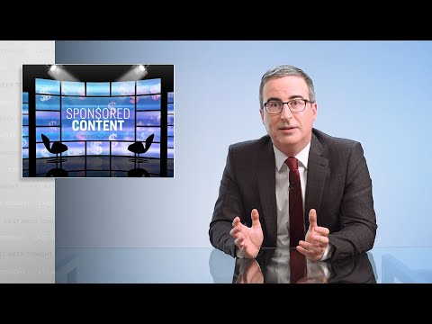 Sponsored Content: Last Week Tonight with John Oliver (HBO)