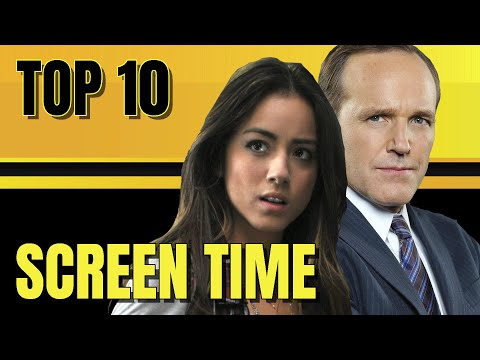 AGENTS OF SHIELD Characters Screen Time