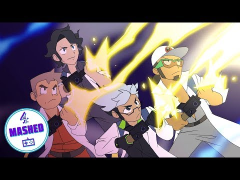 THE REAL POKEBUSTERS (Ghostbusters Pokemon Parody)