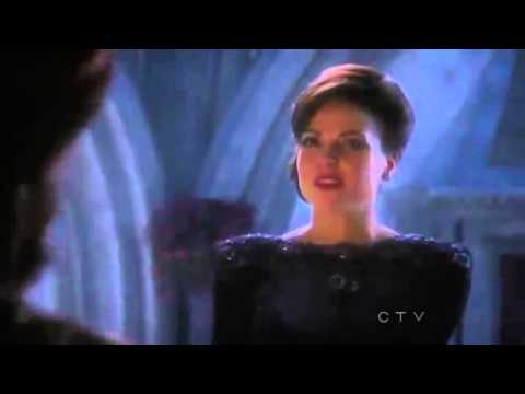 """Once Upon A Time 1x11 """"Fruit of The Poisonous Tree"""" The Genie becomes Evil Queen's Magic Mirror"""