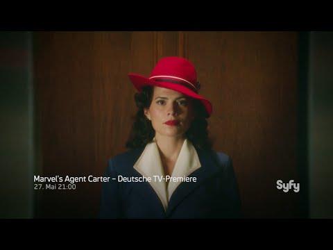 Marvel's Agent Carter Trailer #1 - Deutsche TV-Premiere - Syfy