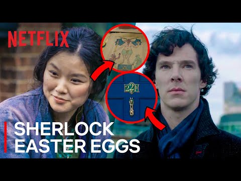 Every Hidden Sherlock Holmes Easter Egg In The Irregulars | Netflix