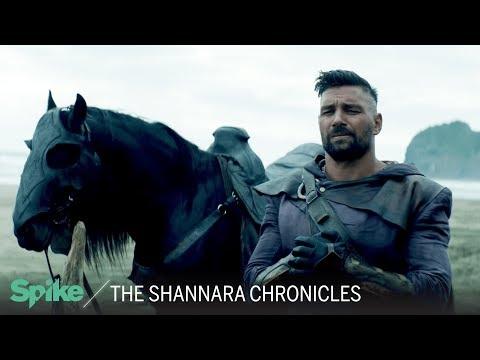 Meet Allanon (Manu Bennett)   The Shannara Chronicles: Now on Spike TV