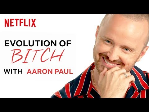 """The History of Jesse Saying """"Bitch"""" in Breaking Bad with Aaron Paul   Netflix"""