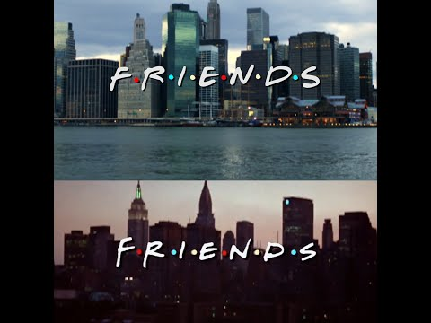 Friends Intro Recreated Using ONLY Stock Footage