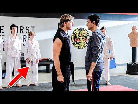 Cobra Kai Bloopers and Hilarious On-Set Moments..