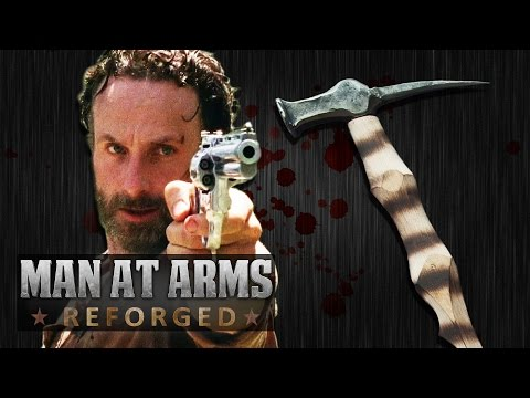 Zombie Killer Weapon Challenge (The Walking Dead) - MAN AT ARMS: REFORGED
