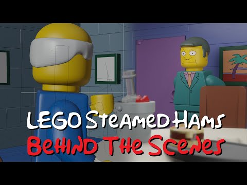 LEGO Steamed Hams - Behind The Scenes