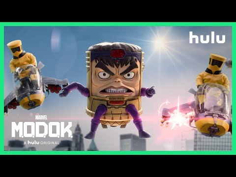 Marvel's M.O.D.O.K. - Date Announcement (Official) • A Hulu Original