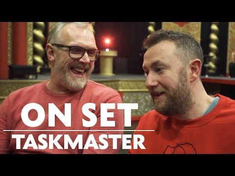 Greg Davies & Alex Horne Behind the Scenes of Taskmaster | On Set