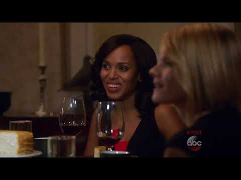 Olivia and Jake   Dinner with Vanessa and Rowan   Scandal 5x14