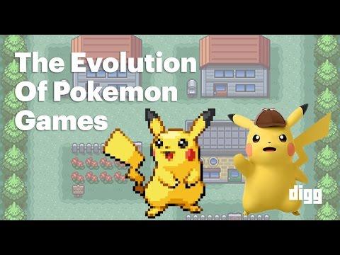 The Evolution of 'Pokemon' Games