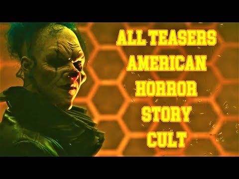 ► ALL TEASERS American Horror Story 7: CULT // Promo from #1 to #25