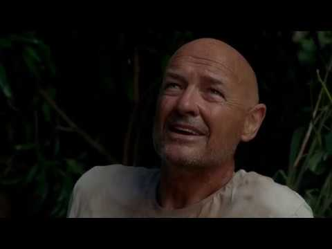 Lost S01E19   Locke and Boone Find the Drug-Running Plane