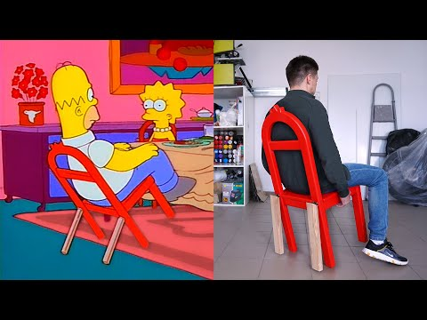 Building & Testing Homer Simpson's Chair