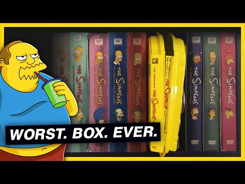 The Art of Ruining a DVD Collection (The Simpsons)