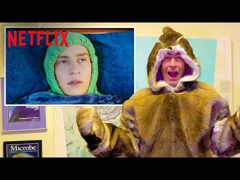 Antarctic Explorer Reacts To Atypical   Netflix