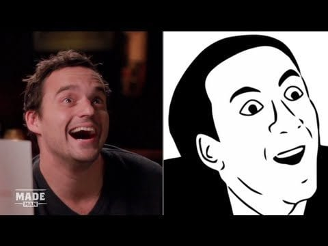 Jake Johnson imitiert Internet Memes