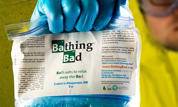 Ein bisschen Meth für alle: Breaking Bad Badesalz