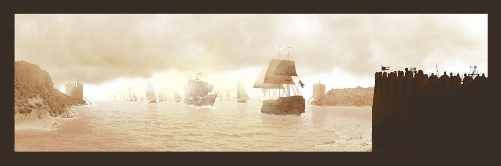 """Glow in the dark """"Game Of Thrones"""" Poster von Mark Englert"""