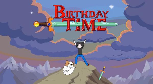 Personifizierte Serienintros als Geburtstagsgeschenk