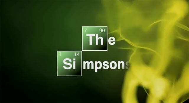 The Simpsons' Breaking Bad Parody