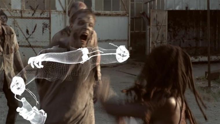 Special Effects bei The Walking Dead