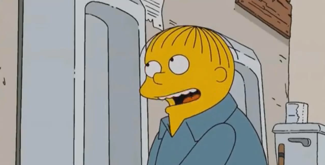 Ralph Wiggum – I tell you what I want