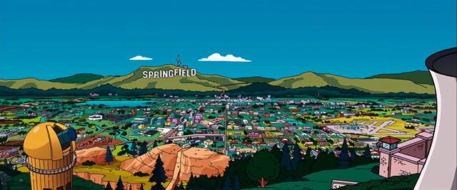 Universal lässt Springfield nachbauen