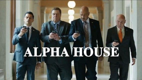 John Goodman macht Comedy in Alpha House