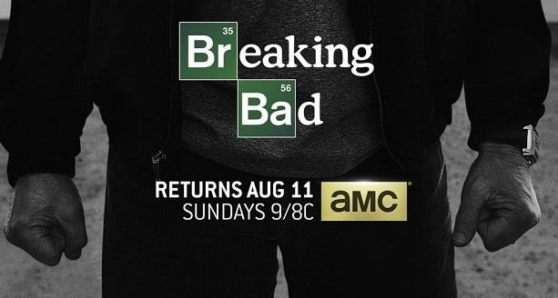 Poster zur finalen Staffel von Breaking Bad