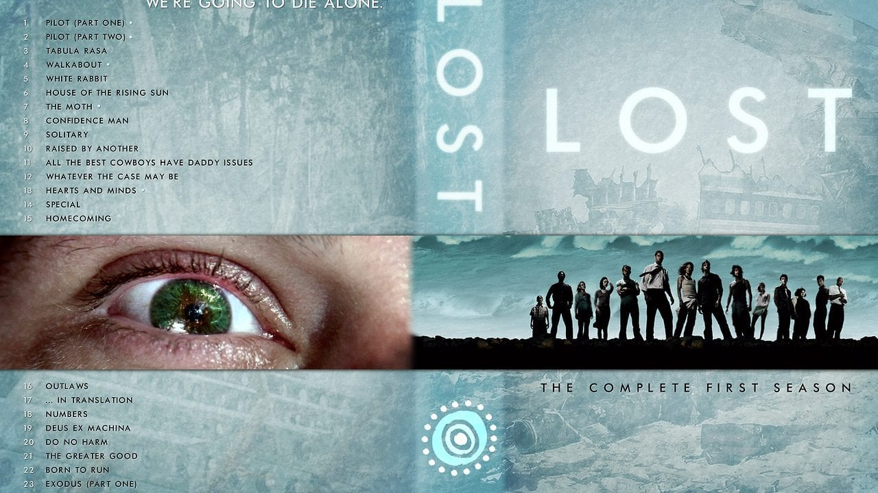 Custom LOST DVD Box Cover