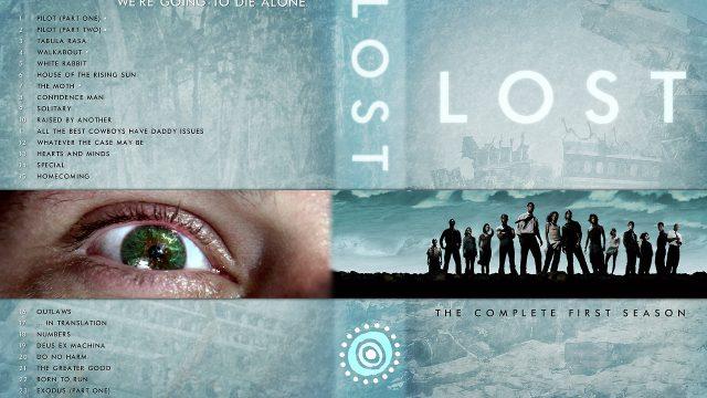 Custom LOST DVD Box Cover