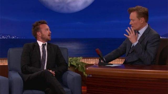 Aaron Paul bei Conan