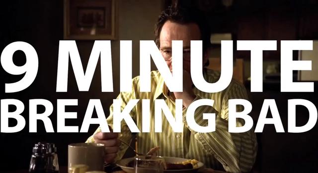 Breaking Bad in 9 Minuten zusammengefasst