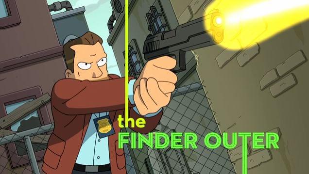 Futurama macht sich über Crime Serien lustig