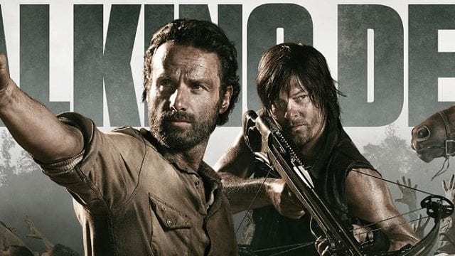 Promo Banner zur vierten Staffel The Walking Dead