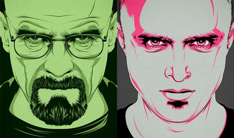 Serien-Illustrationen von CranioDsgn