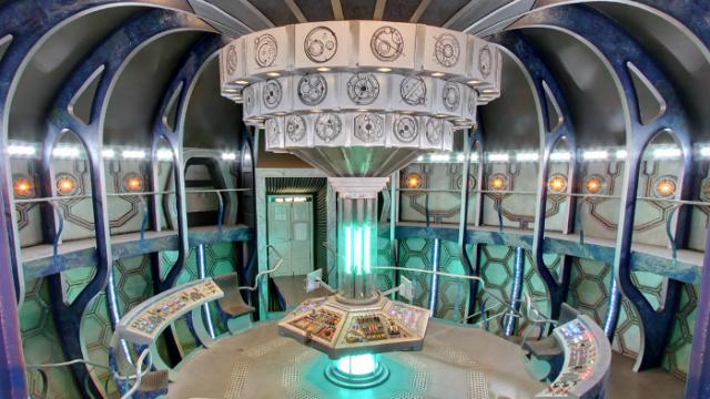 Per Google Maps durch die TARDIS